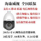 海康威视4G网络球机2DE4220IW-D/GLT