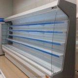 弧形超市柜饮料牛奶2米开放式冷柜