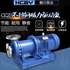 鹤川 CQB不锈钢磁力驱动泵
