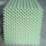 玻璃鋼六角蜂窩斜板填料 耐酸鹼 耐腐蝕 冷卻效率高