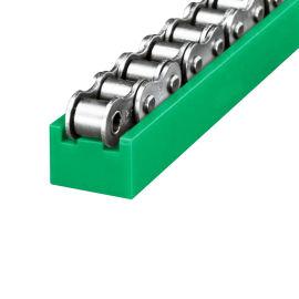 现货供应高精度链条导轨 绿色聚乙烯T型链条导轨