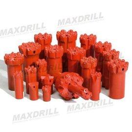 MAXDRILL螺纹球齿钻头(38-127毫米)