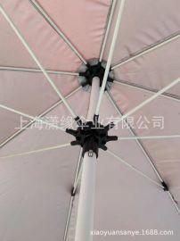 专业定制纤维骨沙滩伞海滩遮阳伞印刷logo
