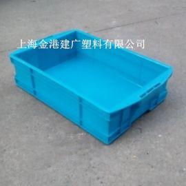 供應 特2#400*272*105大手柄塑料儀表箱 塑膠周轉箱 整理箱