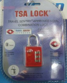 TSA密码箱包挂锁(SKG-520)