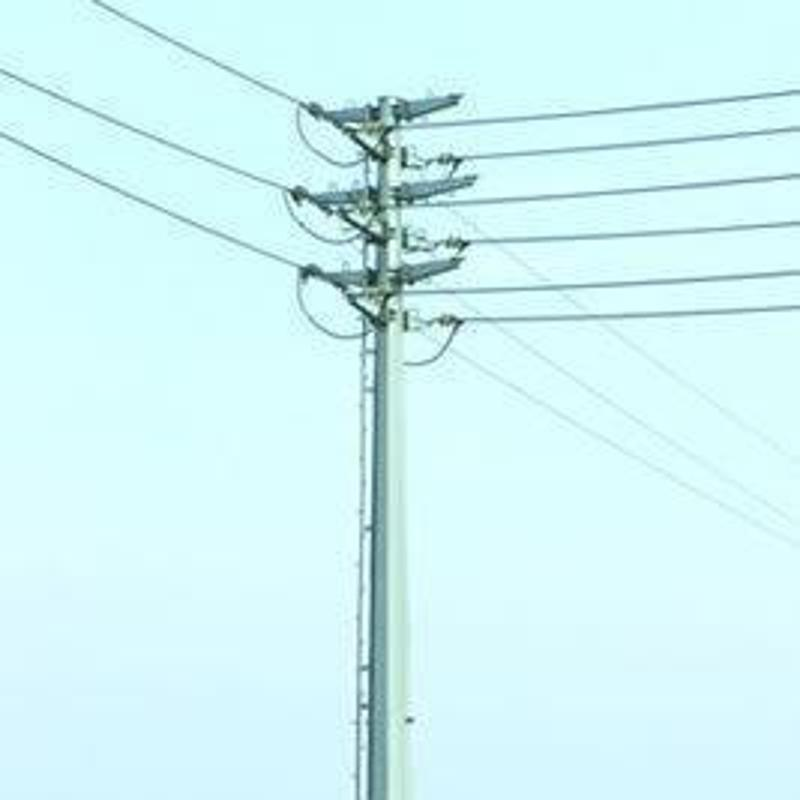 供应陕西西安12.5米10KV电力钢杆及地脚螺栓——电力钢杆价格优惠