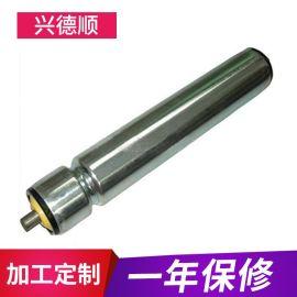 厂家供应压槽滚筒 不锈钢镀锌滚筒 流水线无动力滚筒