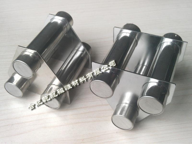 強磁磁力架  高效除鐵 注塑機磁力架廠家  強磁