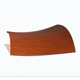 包柱铝单板造型氟碳铝单板雕花木纹冲孔铝单板厂家定制