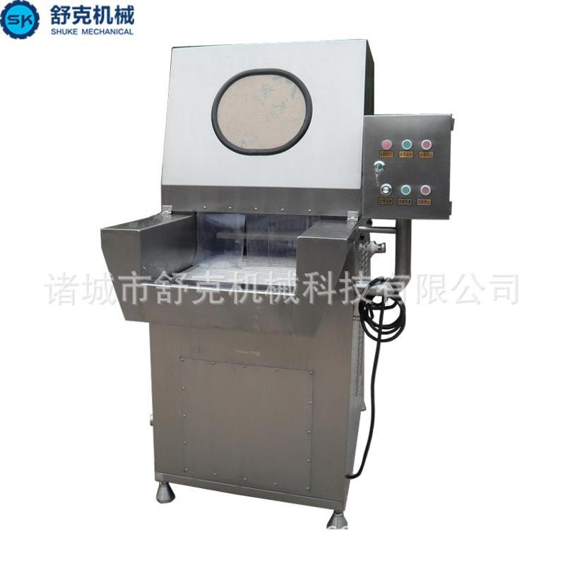 舒克食品机械供应 120针全自动盐水注射机 水晶驴肉/虾仁注射水机