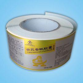 供应铝箔卷筒不干胶,铝箔纸标签印刷,不干胶标签定做