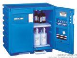 JUSTRITE 双门蓝色聚乙烯安全柜 耐酸碱安全柜 防腐安全柜