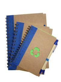 环保带笔线圈笔记本