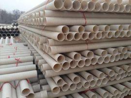 河南开封PVC-U双壁波纹管生产厂家5重质量保证