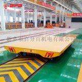 烘干室65吨自动化PLC平车 滚轮轨道小车