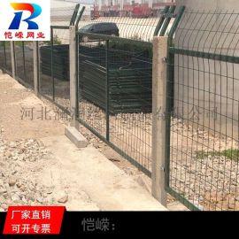 成都草绿色高速铁路框架护栏网