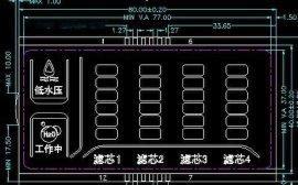 深圳供应净水设备用LCD液晶屏