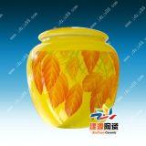 陶瓷儲物罐子,定做陶瓷蜜蜂罐,陶瓷罐子廠家