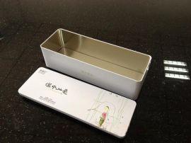 长方形铁盒、方形茶叶盒、绿茶、白茶、铁观音、菊花茶等铁盒包装