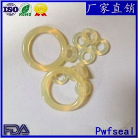 厂家直销耐磨PU聚氨酯O型圈米黄色耐油聚氨酯O形橡胶密封圈