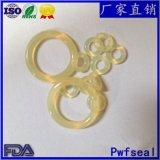 廠家直銷耐磨PU聚氨酯O型圈米黃色耐油聚氨酯O形橡膠密封圈