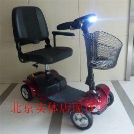 老年代步车残疾人轮椅美国普拉德GOGO四轮电动代步进口配置