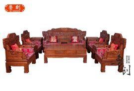 东阳古典中式沙发现代新中式红木沙发客厅组合花梨木实木家具