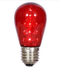 16灯S14 led球泡圣诞灯  节日灯串  装饰灯