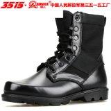 3515强人军靴07作战批发单靴防穿刺强人正品真皮作战靴马丁靴