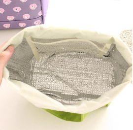 定做手提束口 保温袋 冰包 保温包 午餐包 饭盒袋