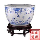定做小陶瓷缸價格 各種大小花盆定製 景德鎮生產缸廠家