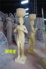 砂岩雕塑 欧式砂岩人物雕塑 砂岩希腊神话人物雕塑厂家