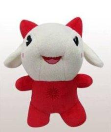 厂家订做 企业吉祥物公仔 毛绒青少年玩偶 毛绒玩具加工定制