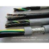 耐弯曲柔性铜网屏蔽拖链电缆