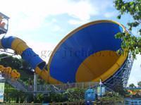 供应广州吉潮水上乐园设备大喇叭滑梯