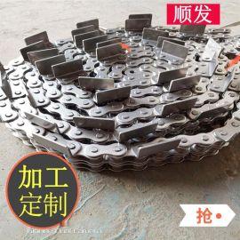 宁津304不锈钢工业传动链条 批发定制食品加工机械不锈钢链条