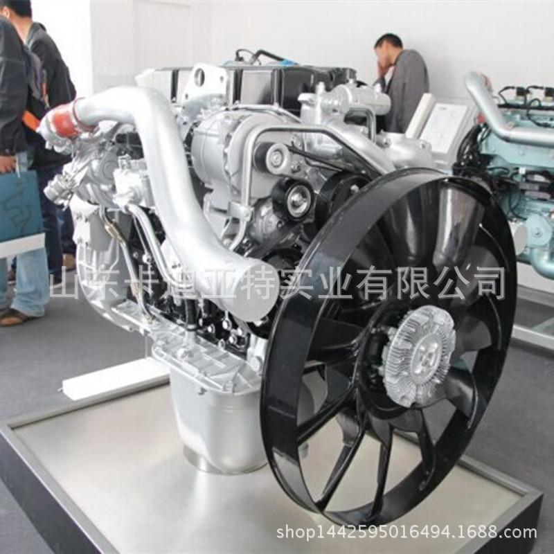 潍柴WD618发动机水泵总成(潍柴发动机件)