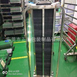 厂家供应苏州定制型防静电pcb周转车 加固立式台车 线路板乘放架