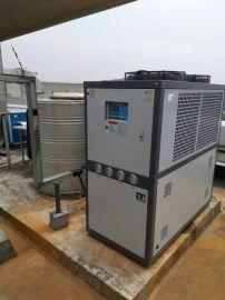 甘肃工业冷水机12P 电镀氧化低温冻水机制冷机厂家供货