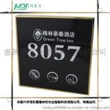 廠家直銷房態顯示牌 電子門牌 房號顯示牌 多功能門牌 酒店房號牌