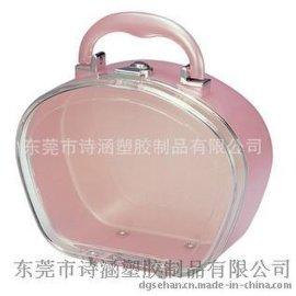 出口欧美 手拎式 硬质高透明 首饰包装收纳盒 SH-6430