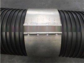供应北京HDPE塑钢缠绕排水管 聚乙烯塑钢缠绕管价格 塑钢缠绕管卡箍报价 大口径塑料排水管