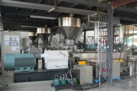 (GZS-65)塑料填充改性造粒机