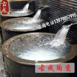 药浴陶瓷大缸 温泉陶瓷大缸 独立式浴缸 厂家直销