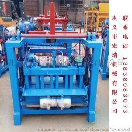 水泥砖机  小型空心砖机 砖机厂家直销 移动式免烧砖机
