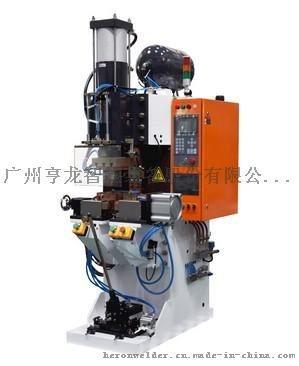 亨龙220KVA气弹簧中频直流凸焊专机DB-220-14023