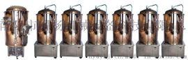 300升一拖六小型自酿啤酒设备