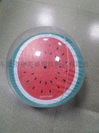 充气球 充气西瓜  沙滩球 儿童玩具 装饰用品