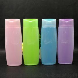 工厂直销400ml洗发/沐浴露瓶  塑料瓶 化妆品包材pet