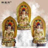 释迦摩尼佛神像坐莲本师释迦牟尼佛佛像佛陀世尊像定做